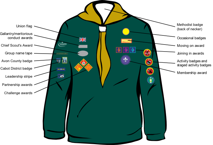 Cub Badge Placement