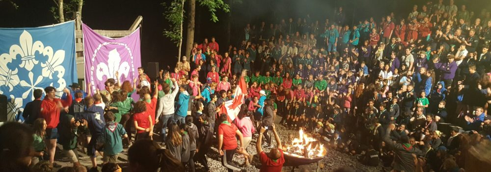 International Campfire evening