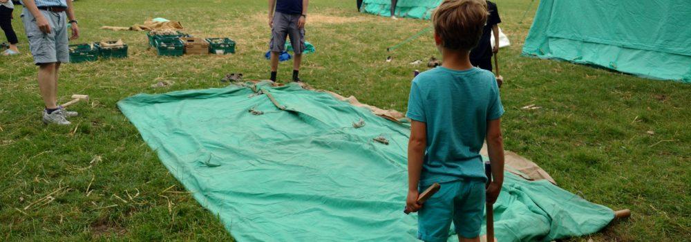 Group Camp begins…