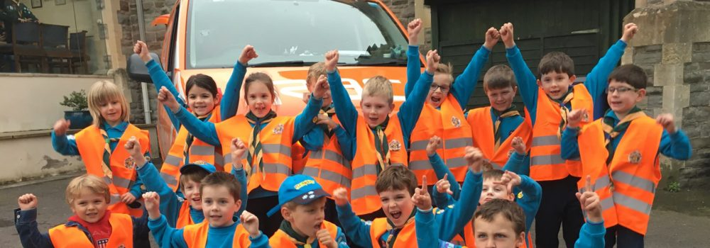 RAC visit Beavers and Cubs